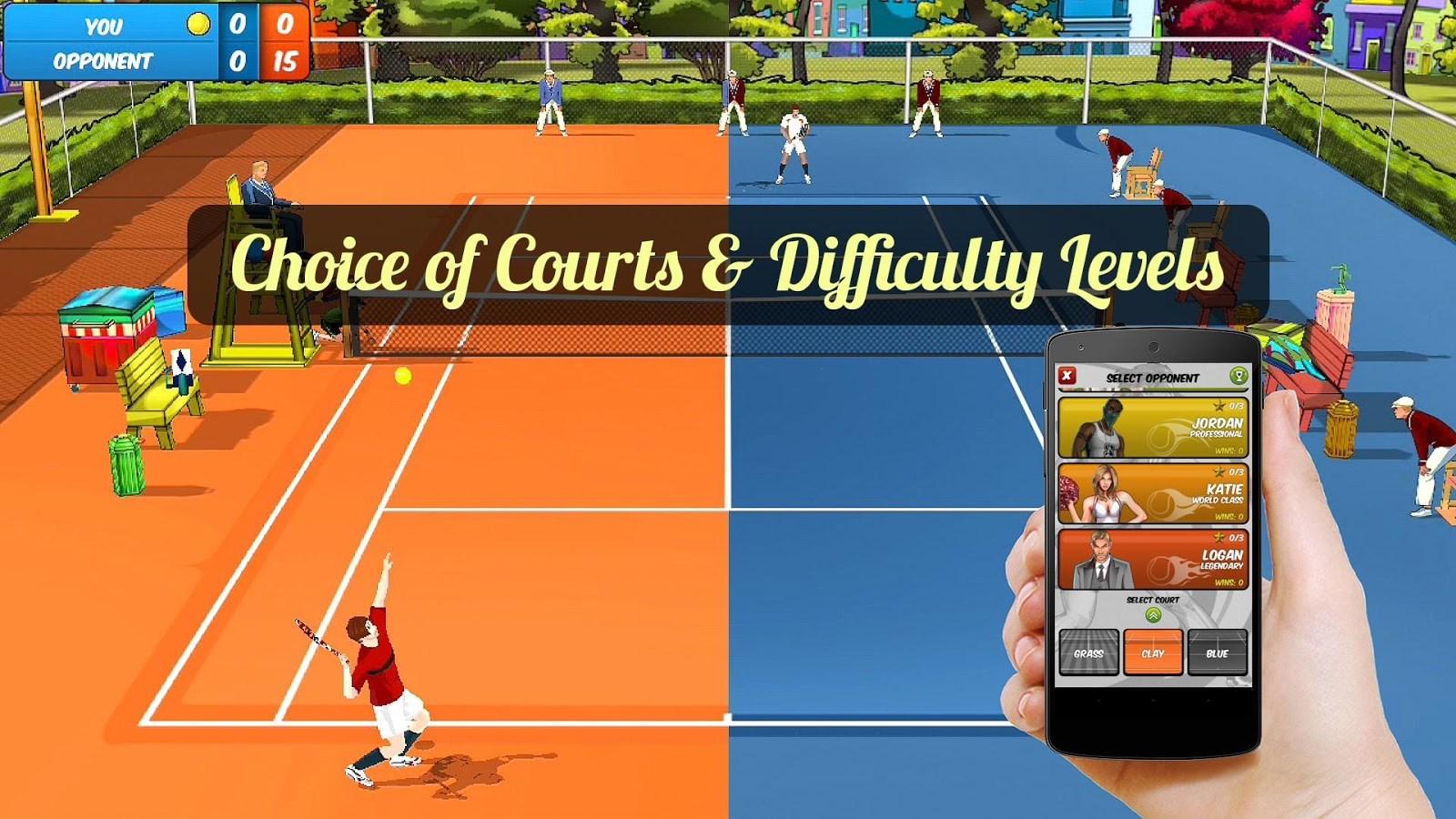 Motion Tennis Cast - Imagem 1 do software