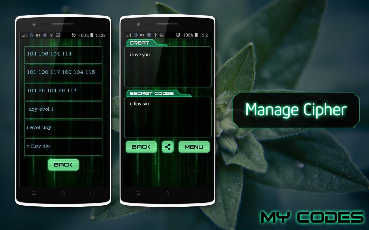 Secret Codes - Cipher Creator - Imagem 1 do software