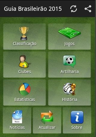 Guia Brasileirão 2016 - Imagem 1 do software