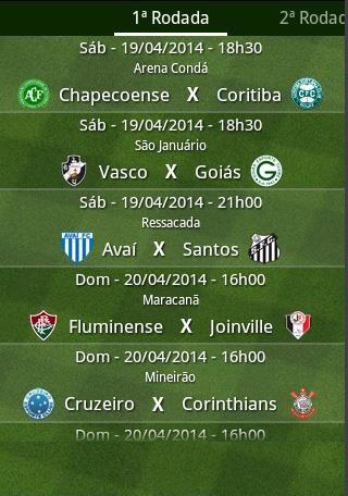 Guia Brasileirão 2016 - Imagem 2 do software