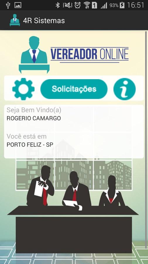Vereador Online - Imagem 1 do software