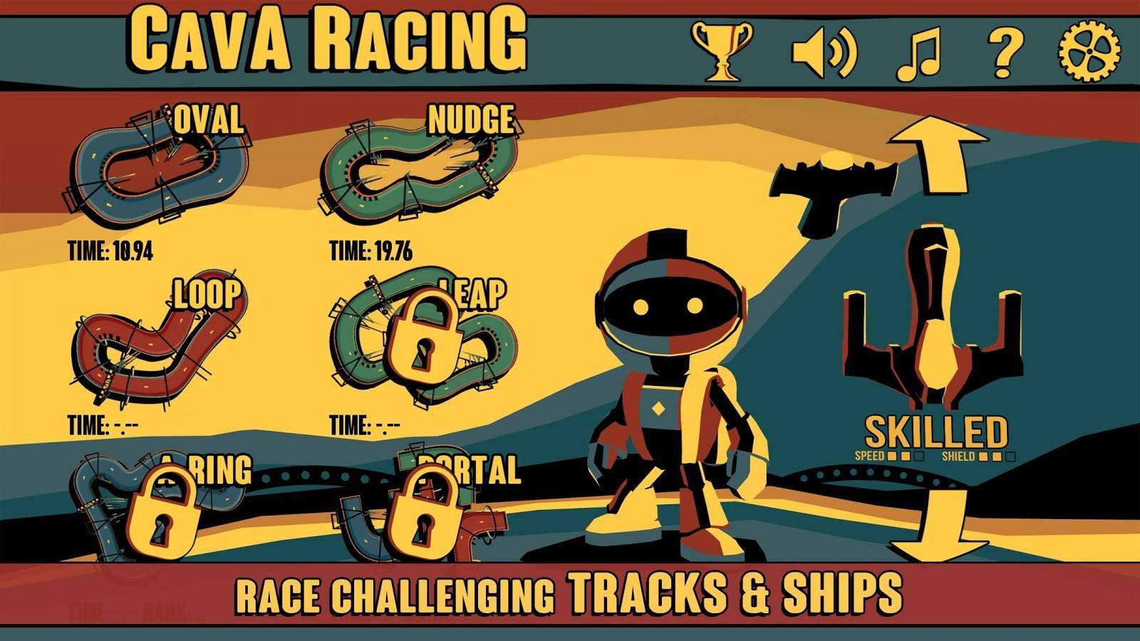 Cava Racing - Imagem 2 do software
