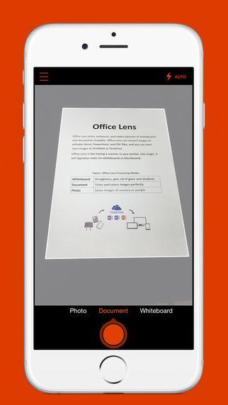 Office Lens - Imagem 2 do software