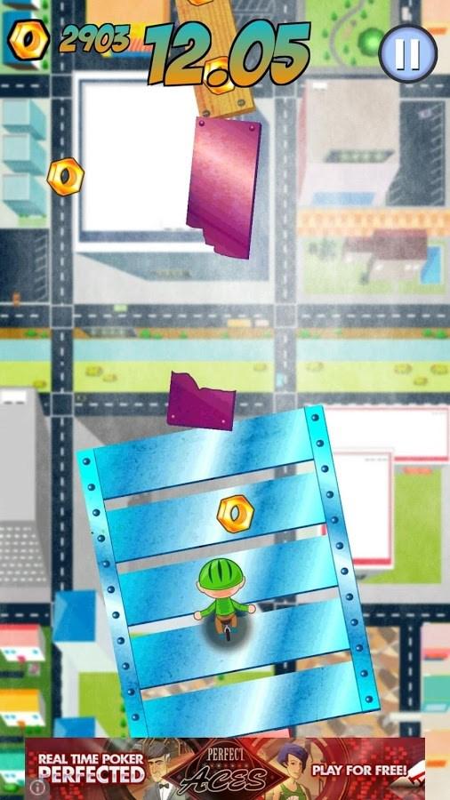 Pedal Panic: Sky Dash Run - Imagem 2 do software