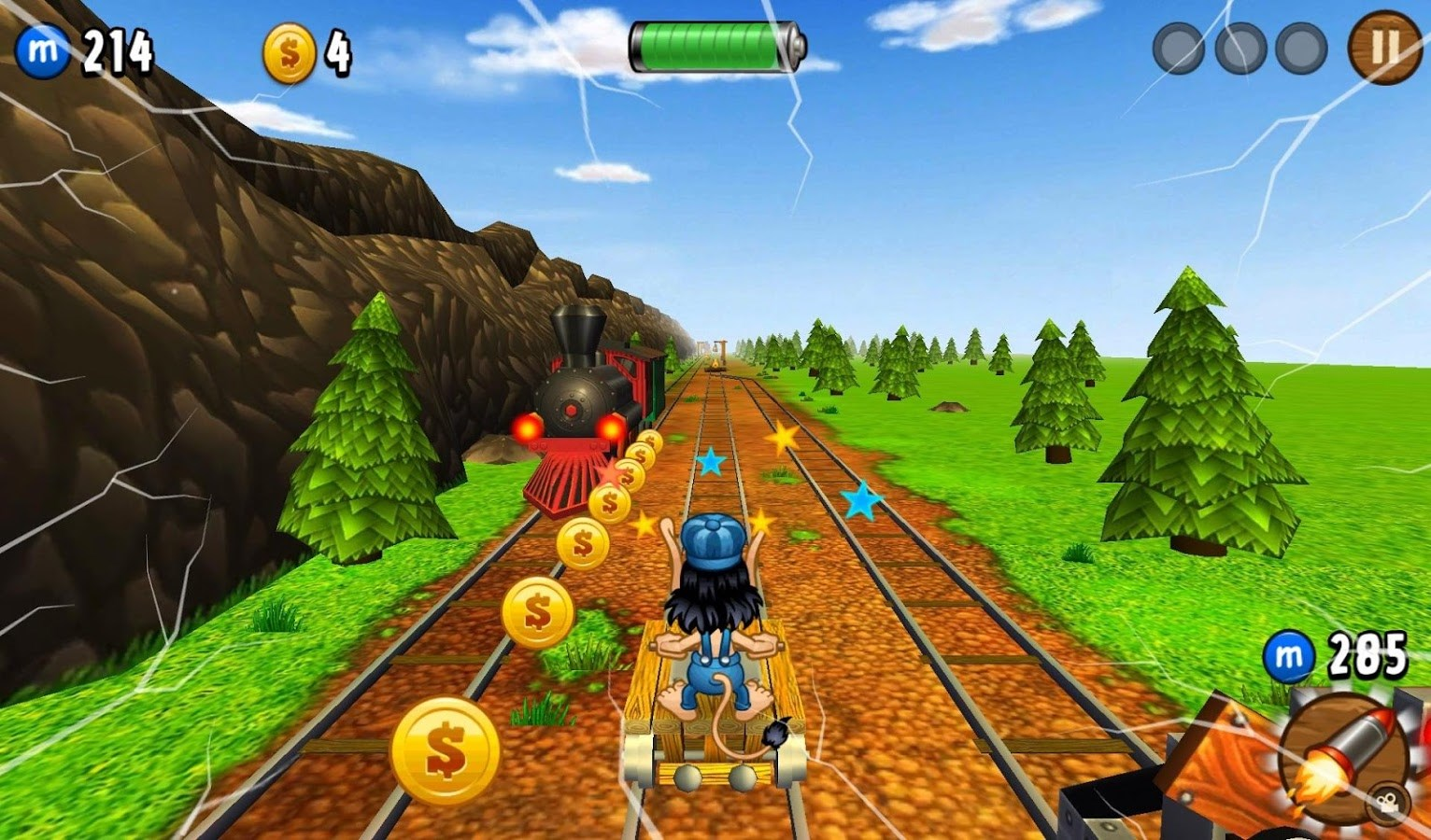 Hugo Troll Race - Imagem 1 do software