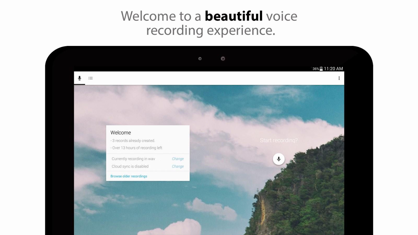 Skyro Voice Recorder - Imagem 1 do software