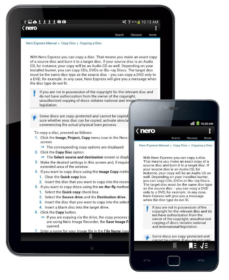 Nero Express Manual - Imagem 2 do software