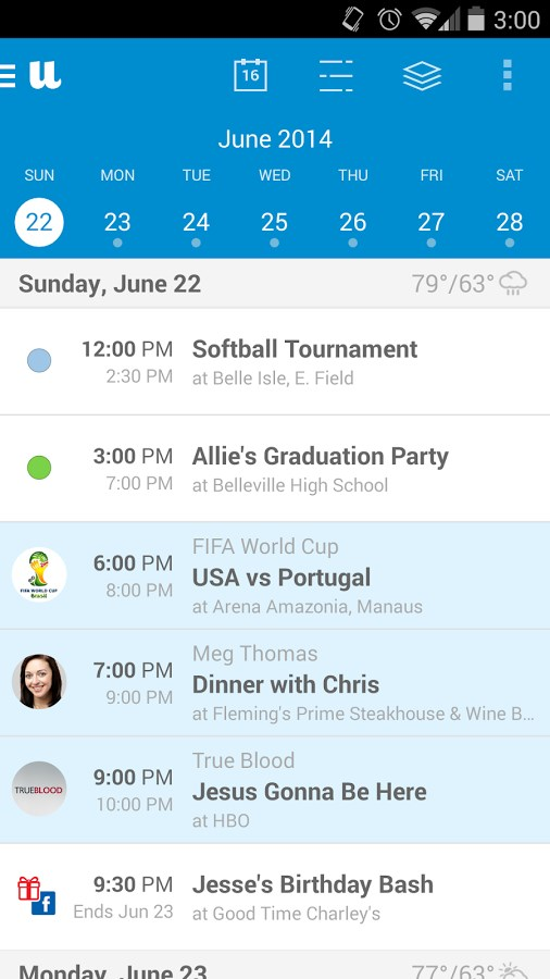 UpTo - Calendar and Widget - Imagem 1 do software