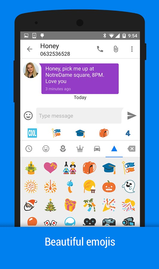 SMS+ (with Lock, Emoji, Spam) - Imagem 1 do software