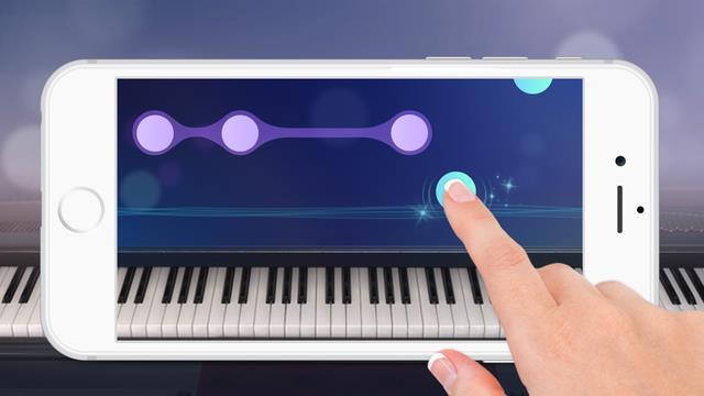 Free Piano app by Yokee - Imagem 1 do software