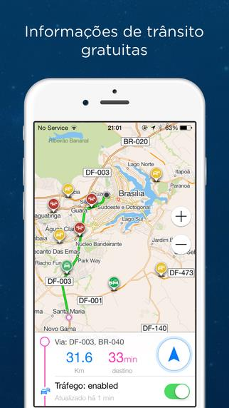 Navmii GPS Brasil - Imagem 2 do software