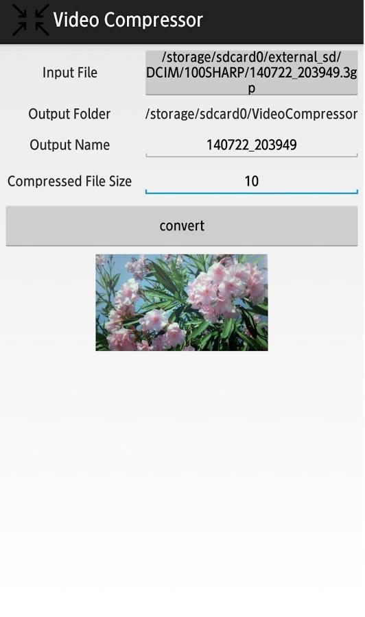 Video Compressor - Imagem 2 do software