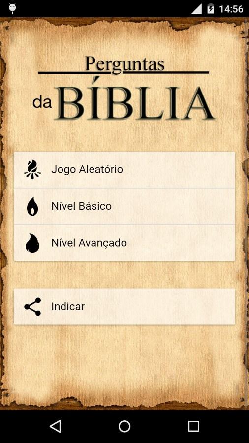 Perguntas da Bíblia - Imagem 1 do software