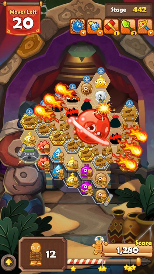 Monster Busters: Hexa Blast - Imagem 1 do software