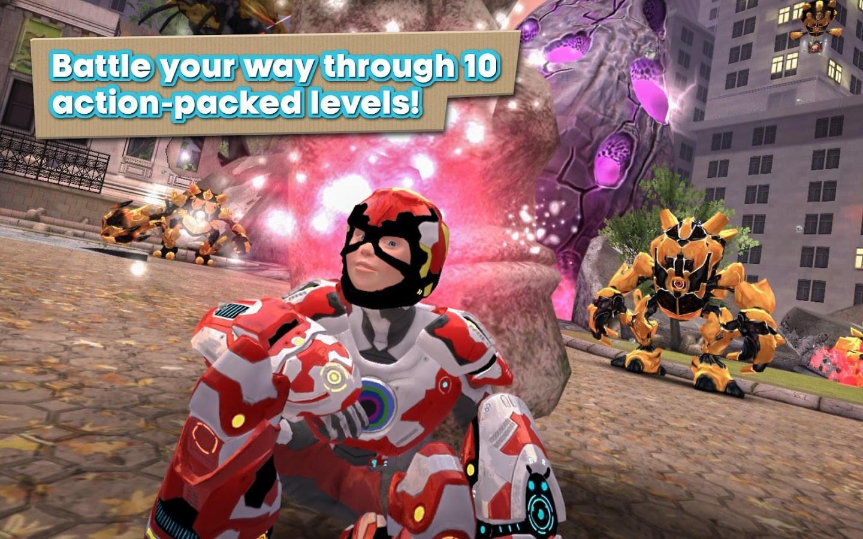 Playworld Superheroes - Imagem 1 do software