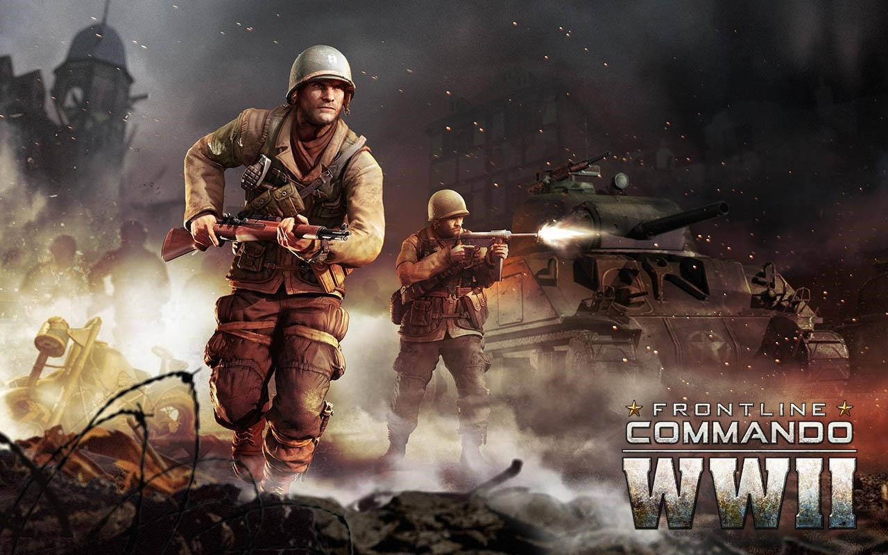 FRONTLINE COMMANDO: WW2 - Imagem 1 do software