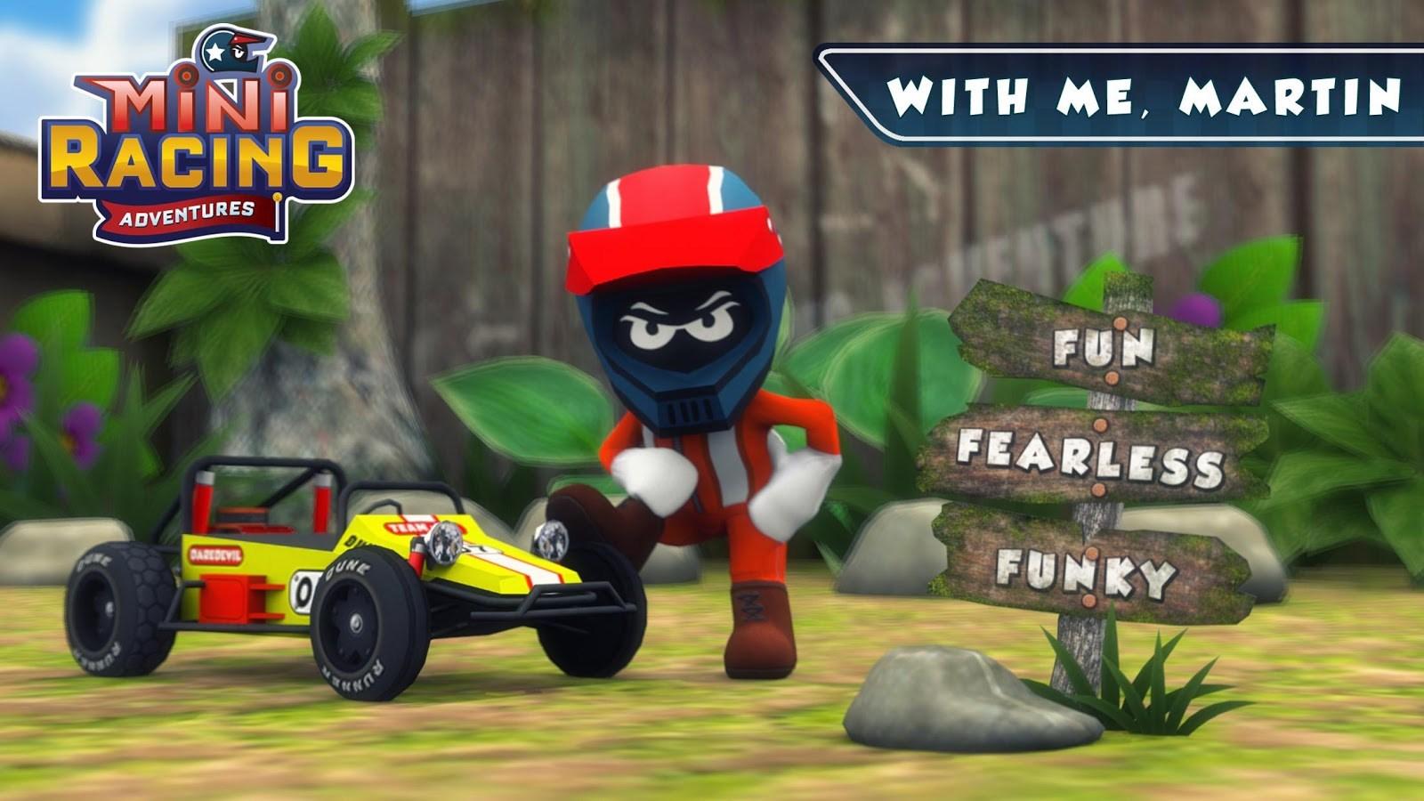 Mini Racing Adventures - Imagem 1 do software
