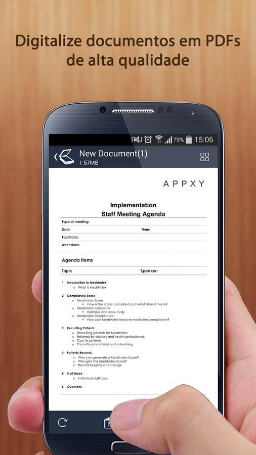 Tiny Scan Pro: PDF Document Scanner - Imagem 1 do software