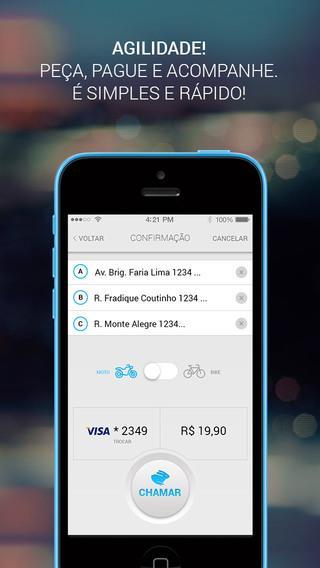 Loggi - Chame um Motoboy - Imagem 2 do software