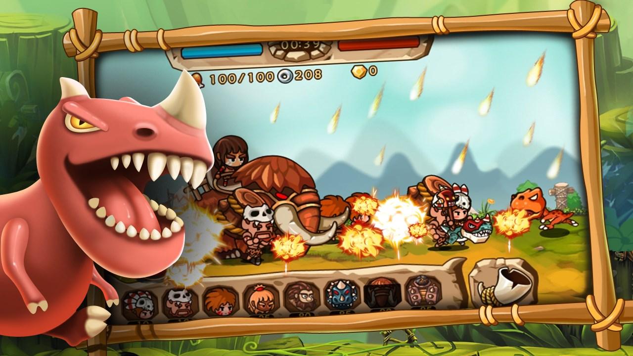 Caveman Vs Dino - Imagem 1 do software