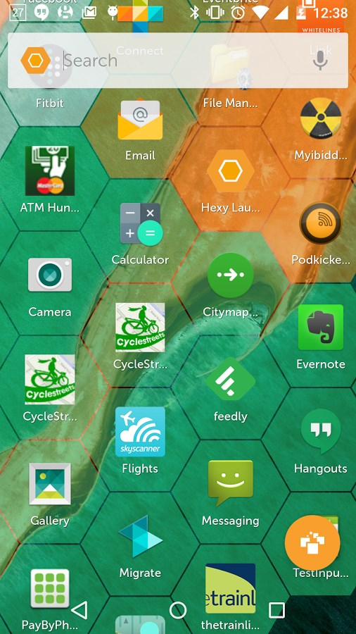Hexy Launcher - Imagem 1 do software