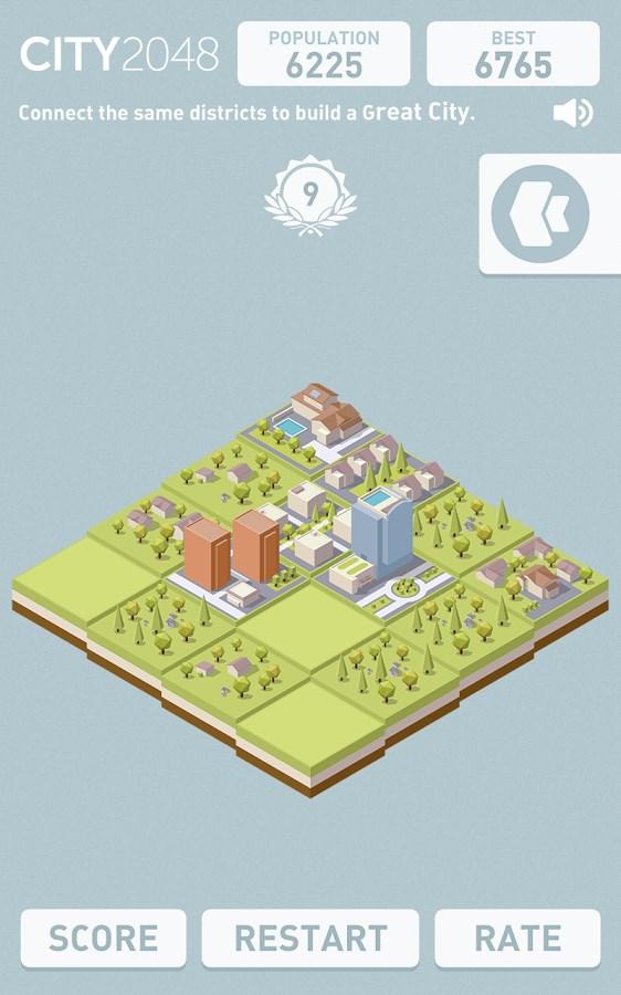 City 2048 - Imagem 2 do software