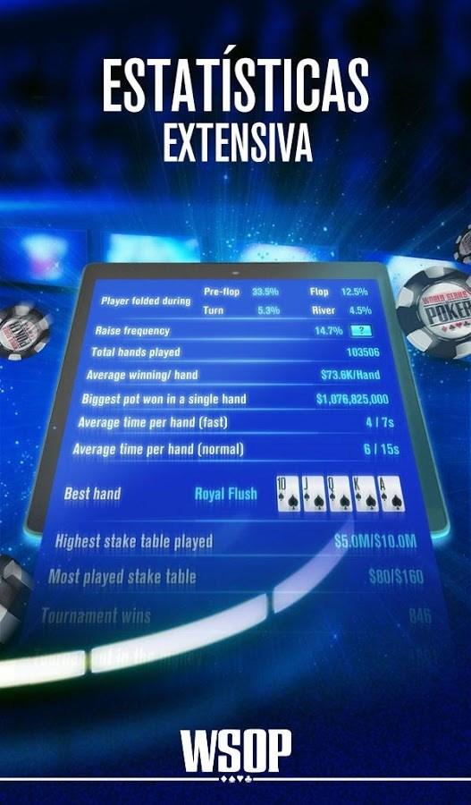 World Series of Poker – WSOP - Imagem 4 do software