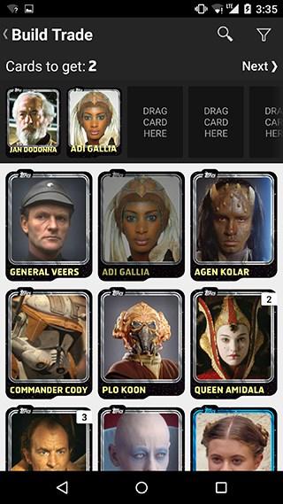STAR WARS™: Card Trader - Imagem 2 do software
