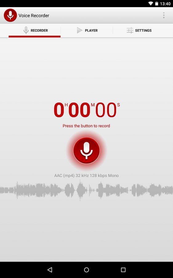Gravador de Voz - Imagem 1 do software