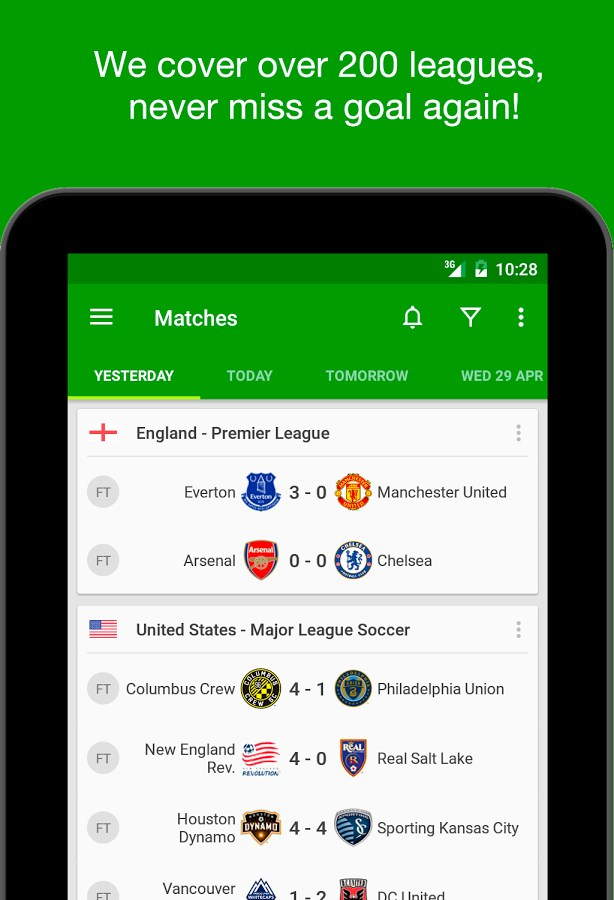 Soccer Scores - FotMob - Imagem 1 do software