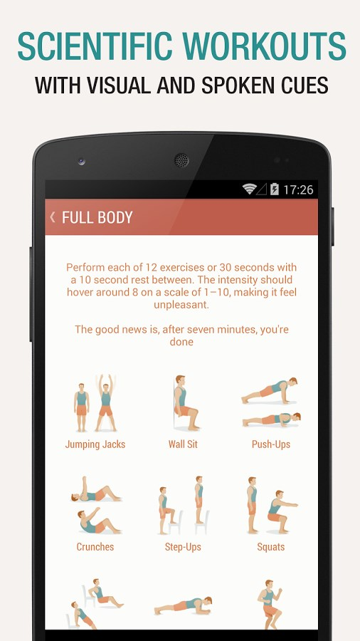 Seven - 7 Minute Workout Challenge - Imagem 1 do software