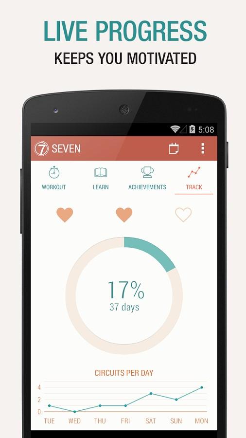 Seven - 7 Minute Workout Challenge - Imagem 2 do software