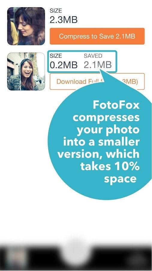 FotoFox - More Space More Photos - Imagem 2 do software