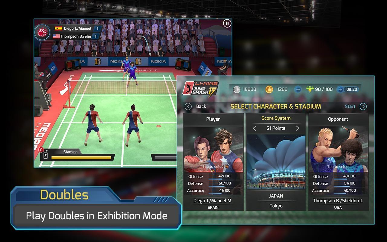 Li-Ning Jump Smash™ 15 - Imagem 1 do software