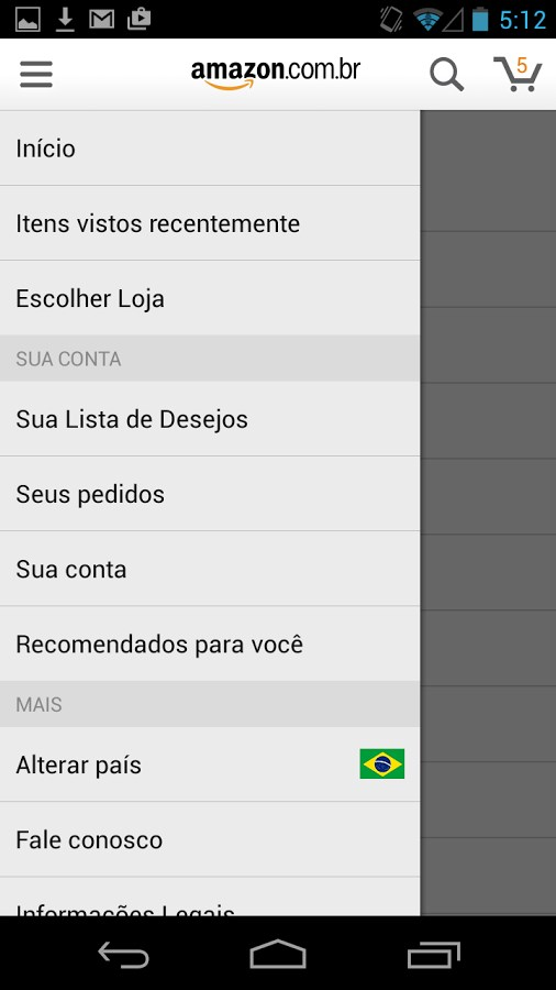 Amazon Shopping - Imagem 1 do software