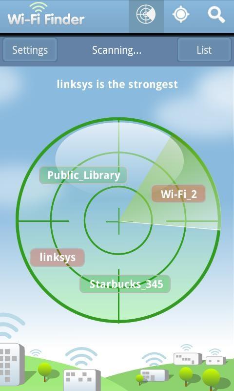 WiFi Finder - Imagem 1 do software
