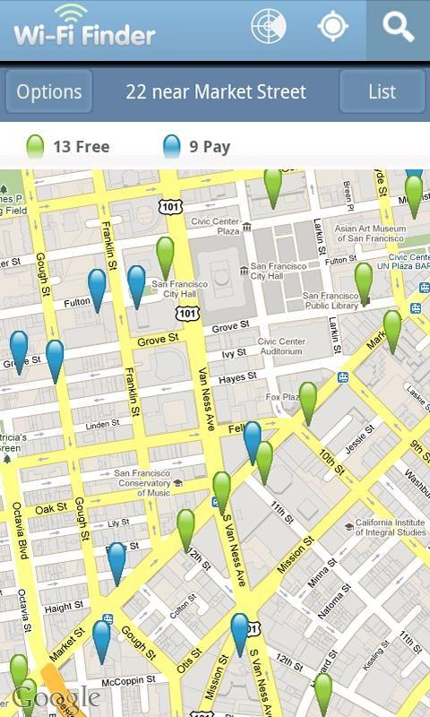 WiFi Finder - Imagem 2 do software