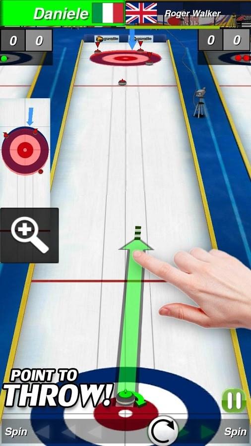 Curling 3D - Imagem 1 do software