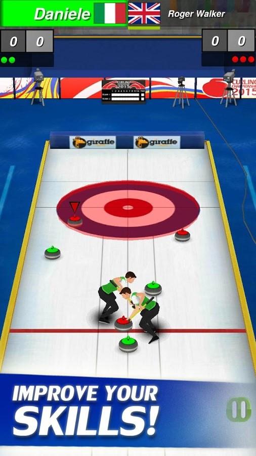 Curling 3D - Imagem 2 do software