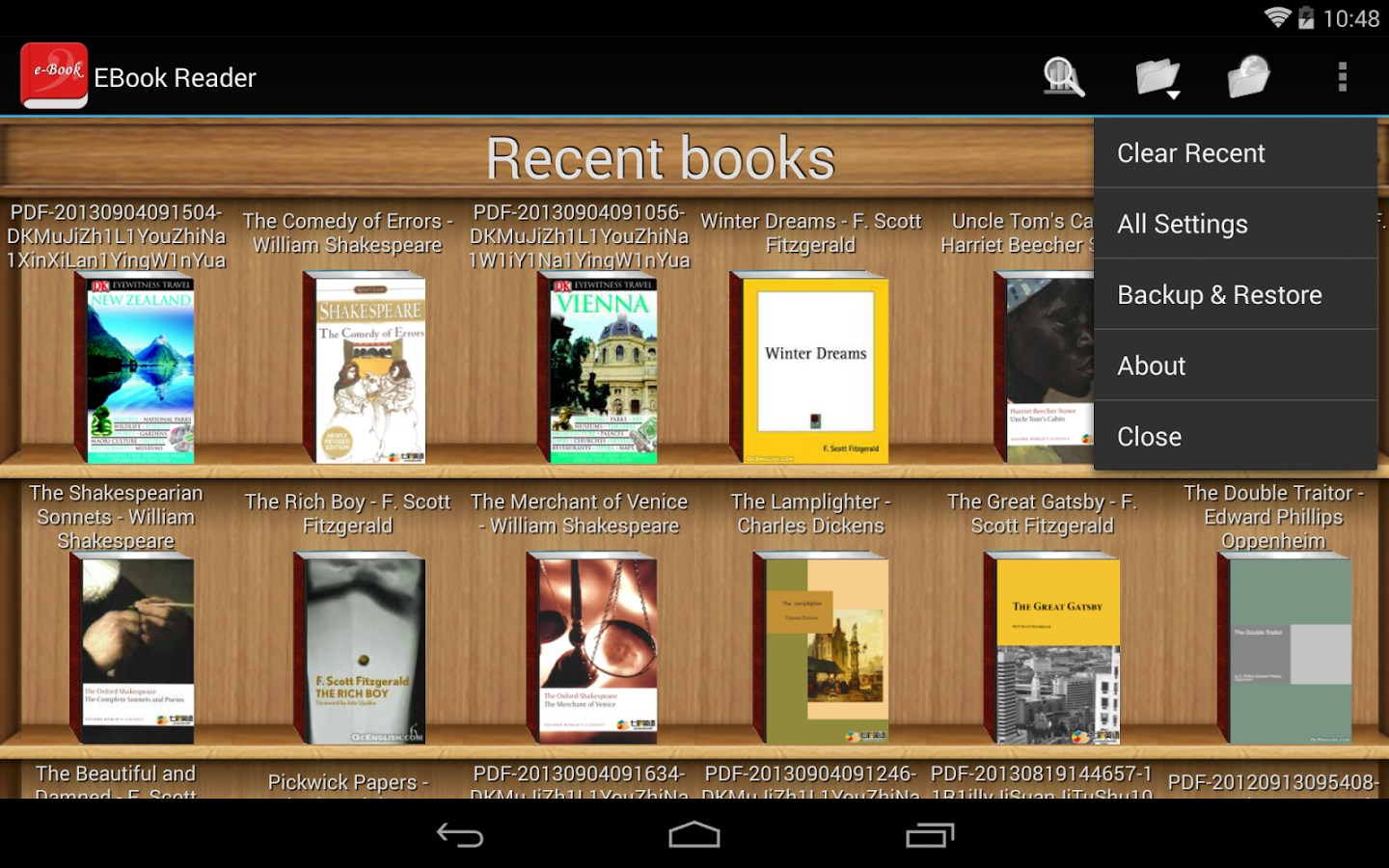 download epub reader android 2.2