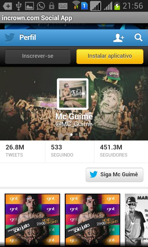 Mc Guime Social App - Imagem 1 do software