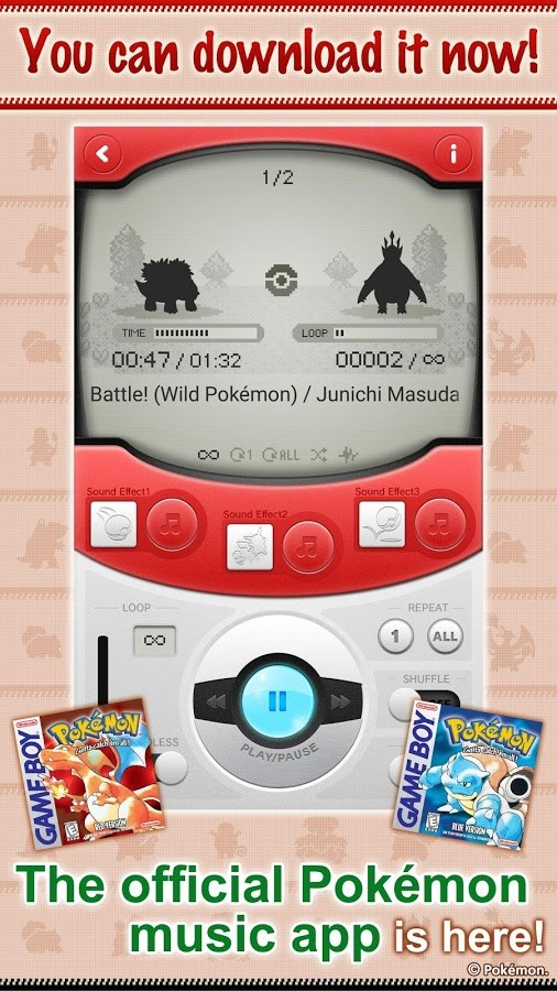 Pokémon Jukebox - Imagem 1 do software