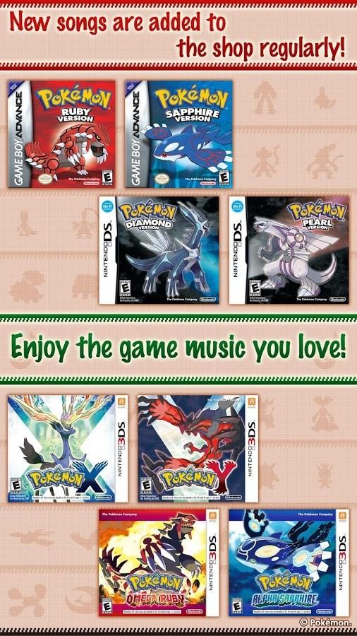 Pokémon Jukebox - Imagem 2 do software