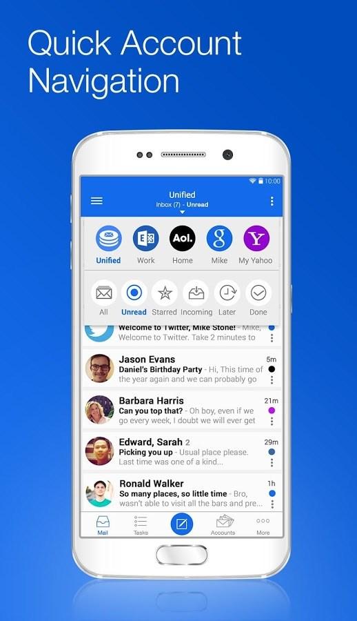 Blue Mail - Imagem 1 do software