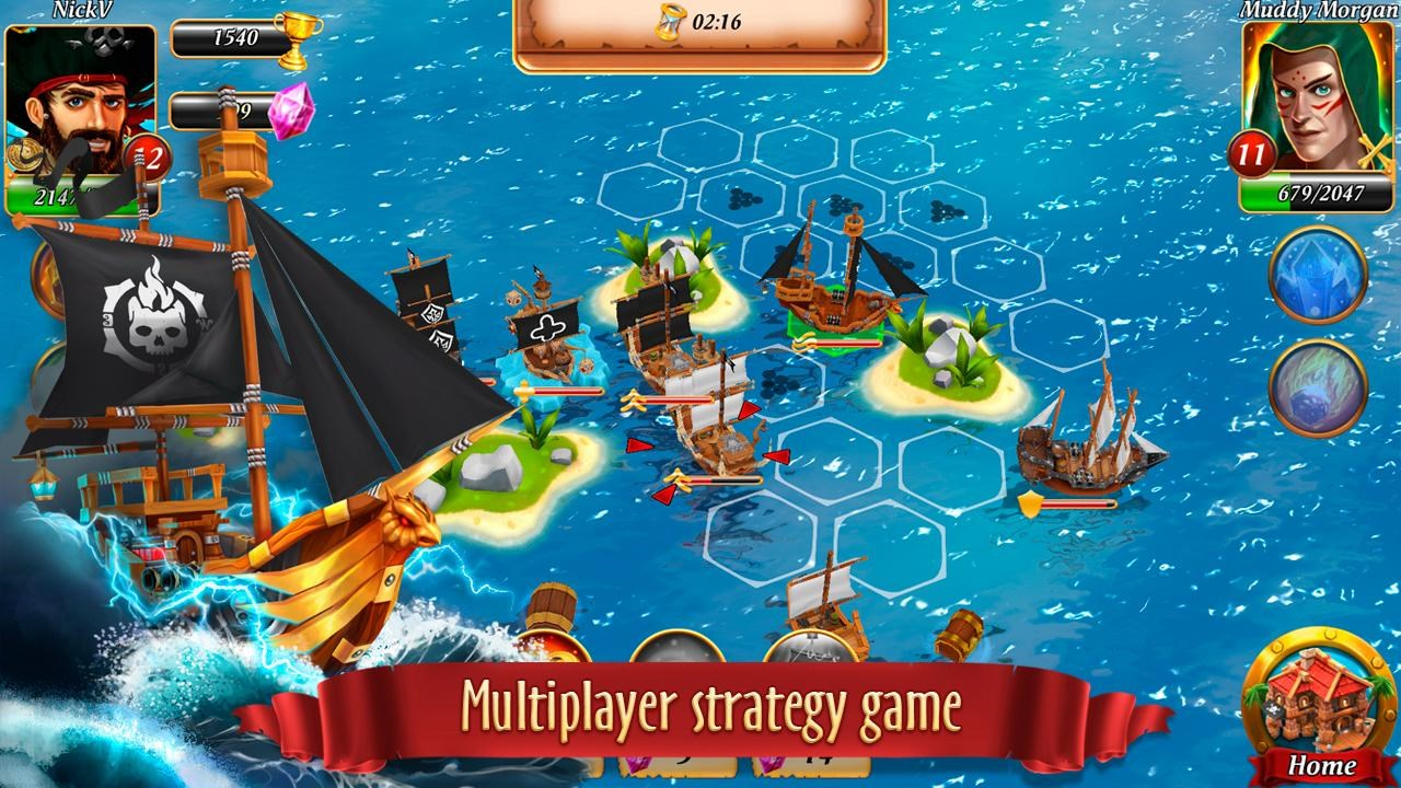 Pirate Battles: Corsairs bay - Imagem 1 do software