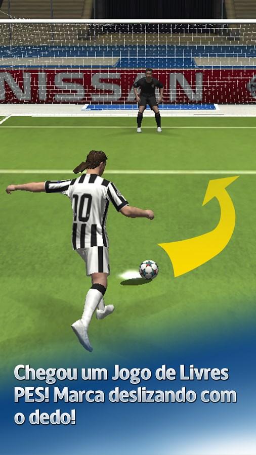 UEFA CL PES FLiCK - Imagem 1 do software