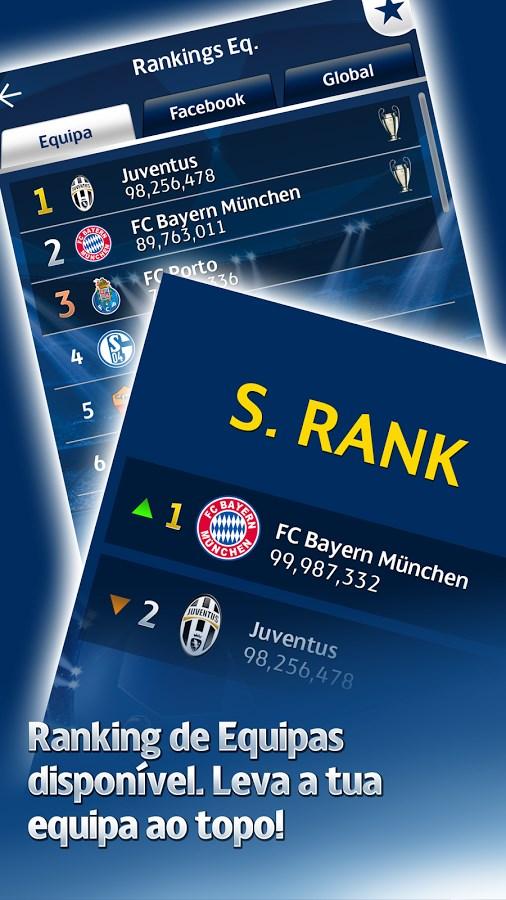 UEFA CL PES FLiCK - Imagem 2 do software