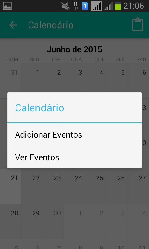 IF Agenda - Imagem 4 do software
