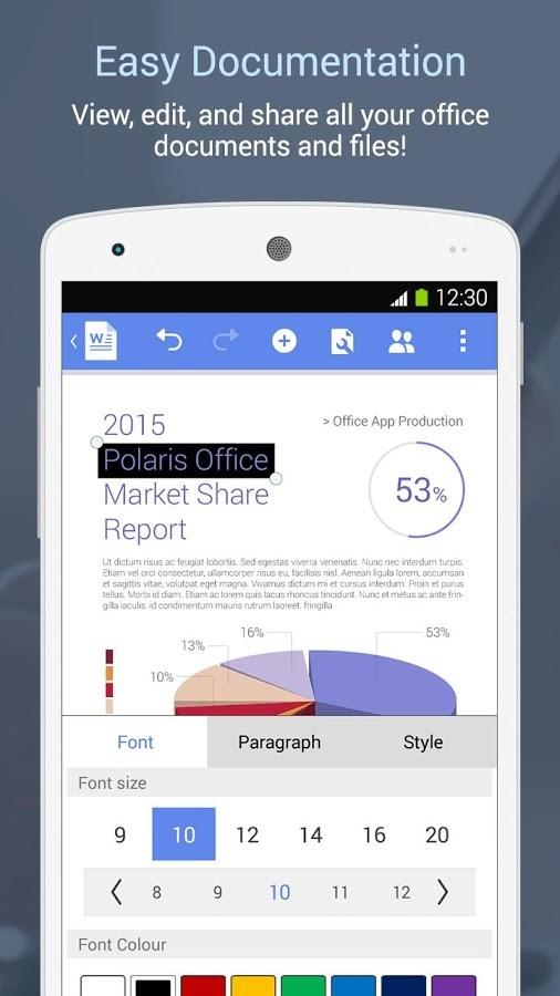Polaris Office - Imagem 2 do software