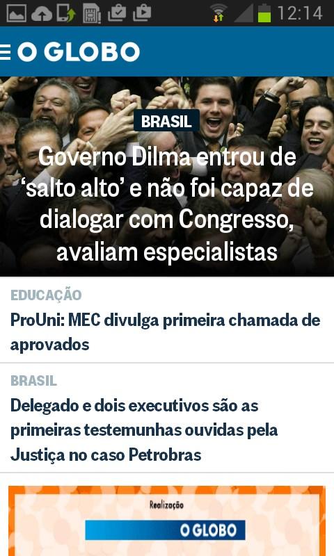 O Globo Notícias - Imagem 1 do software